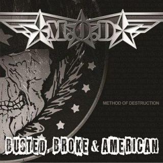 M.O.D. - Busted, Broke & American (2017) VBR V0 (Scene CD-Rip)