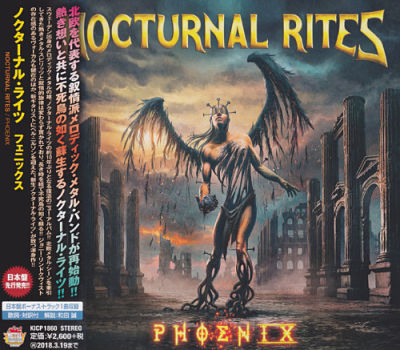 Nocturnal Rites - Phoenix [Japanese Edition] (2017) 320 kbps + Scans
