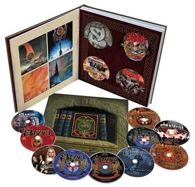 Saxon - Solid Book Of Rock [11CD Box Set] (2017) 320 kbps + Scans