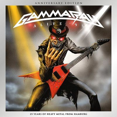 Gamma Ray - Alive 95 (1995) [Anniversary Edition 2017] 320 kbps