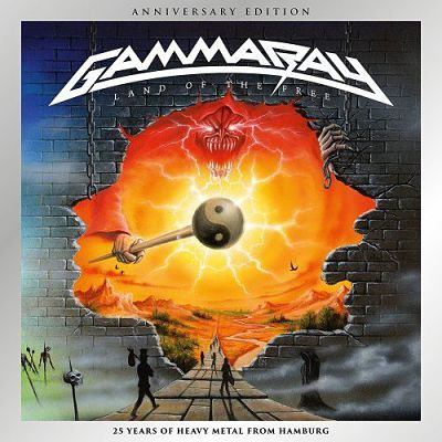 Gamma Ray - Land of the Free (1995) [Anniversary Edition 2017] 320 kbps + Scans
