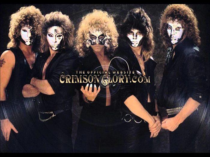 Crimson Glory - Discography (1986-1999) 320 kbps + Scans