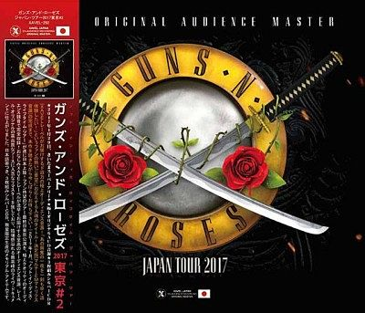 Guns N' Rose - Not In This Lifetime...Tokyo #2 [Live, 3CD] (2017) 320 kbps