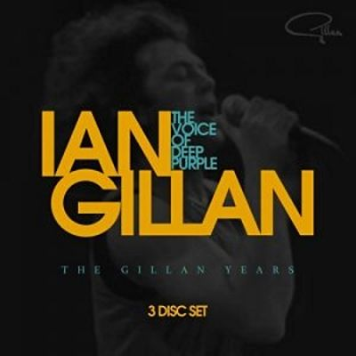Ian Gillan - The Voice Of Deep Purple: The Gillan Years [3CD Compilation] (2017) 320 kbps