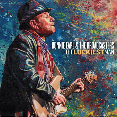 Ronnie Earl & The Broadcasters - The Luckiest Man (2017) 320 kbps