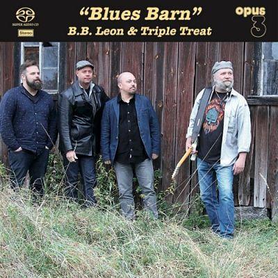 B.B. Leon & Triple Treat - Blues Barn (2017) 320 kbps