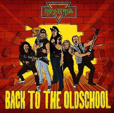 Hysteria - Back to the Oldschool (2017) 320 kbps