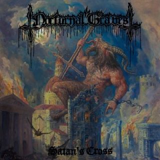 Nocturnal Graves - Satan's Cross (2007) [Reissue 2017] 320 kbps