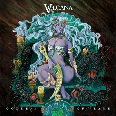 Volcana - Goddess Of Flame (2017) 320 kbps
