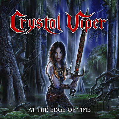 Crystal Viper - At the Edge of Time (2018) 320 kbps