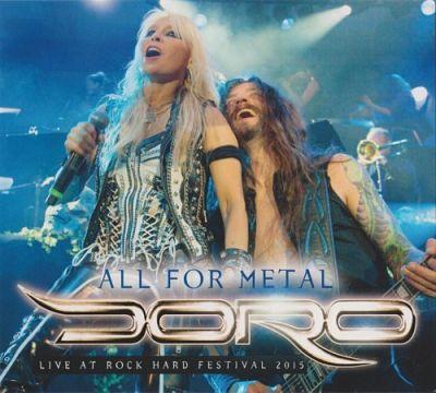 Doro - All For Metal - Live At Rock Hard Festival 2015 (Rock Hard Promo CD) (2018) 320 kbps
