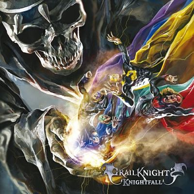 Grailknights - Knightfall (2018) 320 kbps