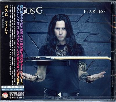 Gus G. - Fearless (Japanese Edition) (2018) 320 kbps