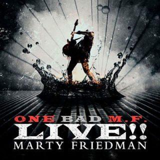 Marty Friedman - One Bad M.F. Live!! (2018) 320 kbps