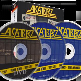 Alcatrazz - Parole Denied - Tokyo 2017 (Japanese Ed.) [2CD+DVD] (2018) 320 kbps
