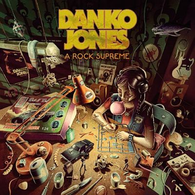 Danko Jones - A Rock Supreme (2019) 320 kbps