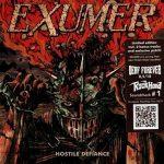 Exumer – Hostile Defiance (Limited Edition) (2019) 320 kbps