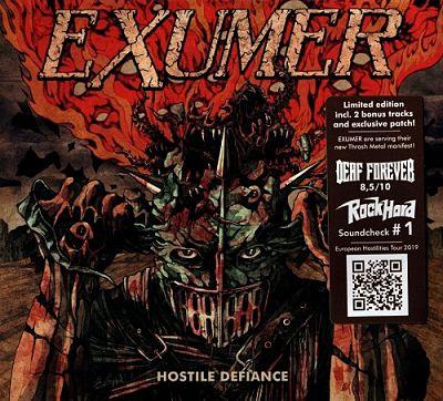 Exumer - Hostile Defiance (Limited Edition) (2019) 320 kbps