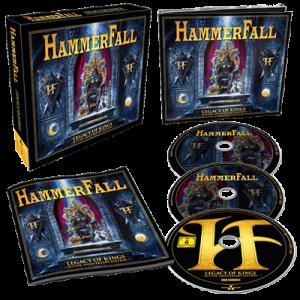 Hammerfall - Legacy of Kings (20 Year Anniversary Edition) (2018) 320 kbps