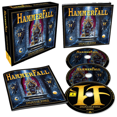 Hammerfall - Legacy of Kings (20 Year Anniversary Edition) (2018) 320 kbps