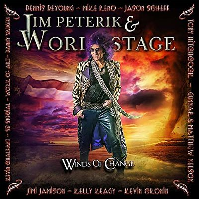 Jim Peterik & World Stage - Winds Of Change (Japanese Edition) (2019) 320 kbps