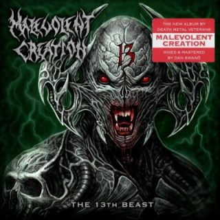 Malevolent Creation - The 13th Beast (2019) 320 kbps