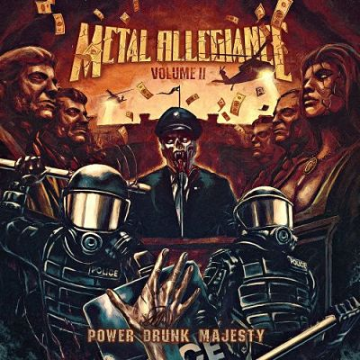 Metal Allegiance - Volume II - Power Drunk Majesty (2018) 320 kbps
