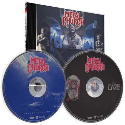 Metal Church - Damned If You Do (Japanese Ltd. Ed.) (2018) 320 kbps