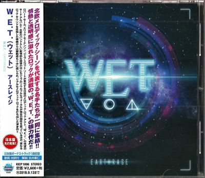 W.E.T. - Earthrage (Japanese Edition) (2018) 320 kbps