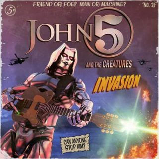 John 5 ft. The Creatures - Invasion (2019) 320 kbps