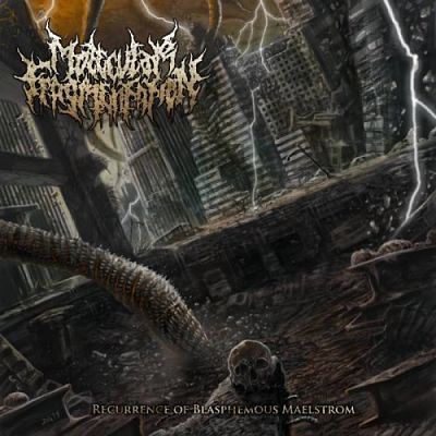 Molecular Fragmentation - Recurrence Of Blasphemous Maelstrom (2019)
