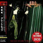 U.D.O. - Mad For Crazy (Japan Edition 2019) (Compilation) 320 kbps