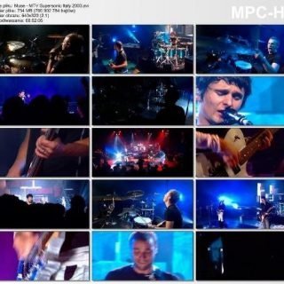 Muse - Live at MTV Supersonic, Italy 2003