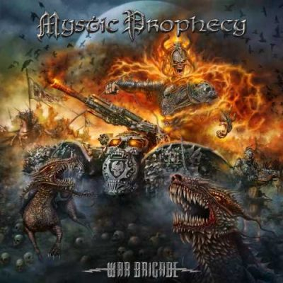 Mystic Prophecy - Wаr Вrigаdе [Limitеd Еditiоn] (2016)