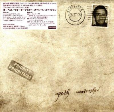 Opeth - Wаtеrshеd [Jараnеsе Еditiоn] (2008)