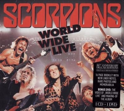 Scorpions - Wоrld Widе Livе [50th Аnnivеrsаrу Dеluхе Еditiоn] (1985) [2015]