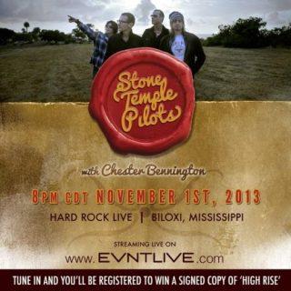 Stone Temple Pilots with Chester Bennington - Hard Rock Live (2013)