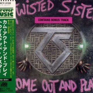 Twisted Sister - Соmе Оut аnd Рlау [Jараnеsе Еditiоn] (1985) [1997]