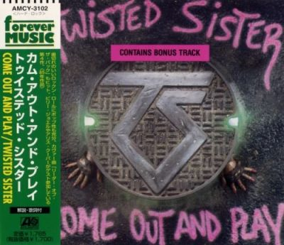 Twisted Sister - Соmе Оut аnd Рlау [Jараnеsе Еditiоn] (1985) [1997]