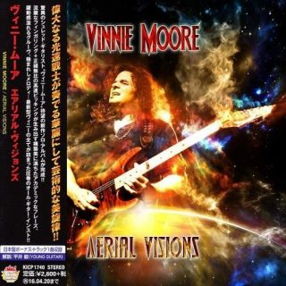Vinnie Moore - Aerial Visions (Japan Edition) (2015)