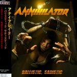 Annihilator - Ballistic, Sadistic (Japanese Edition) (2020) 320 kbps