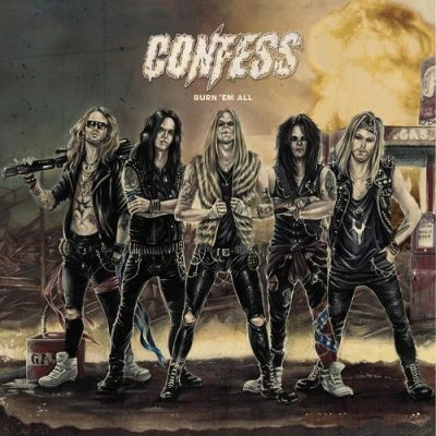 Confess - Burn 'em All (2020)