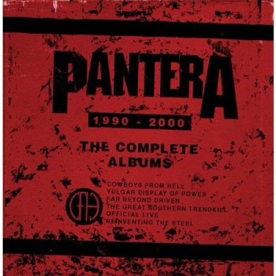 Pantera - The Complete Albums 1990-2000 (2016) [24/44 FLAC]