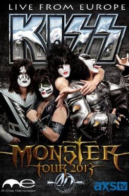 Kiss: The Kiss Monster World Tour - Live from Hallenstadion, Zurich, Switzerland 2013 [HDTVRip]
