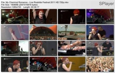 My Chemical Romance - Live at Roskilde Festival 2011