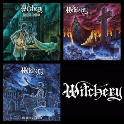 WITCHERY – Classic Album Reissue & Remaster & Bonus [3 CD] (2020)