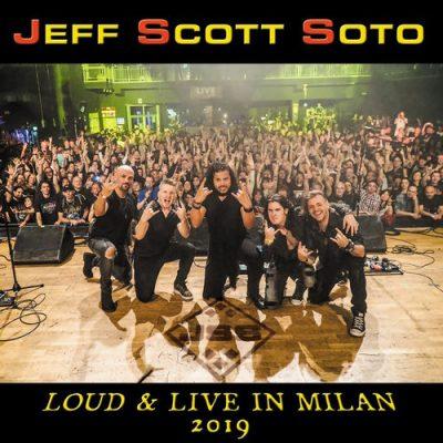 Jeff Scott Soto - Loud & Live in Milan 2019 (2020)