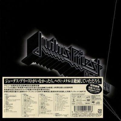 Judas Priest - Metalogy (Japan 4CD BoxSet+DVD) (2004)