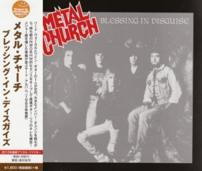 Metal Church - Вlеssing In Disguisе [Jараnеsе Еditiоn] (1989) [2013]